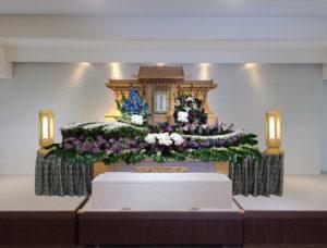 生野区 葬儀 白木祭壇