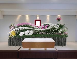 生野区葬儀 花祭壇2