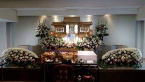 生野 葬儀 白木祭壇
