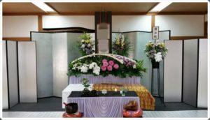 生野区 葬儀社 祭壇3