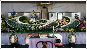 生野区 葬儀社 祭壇2