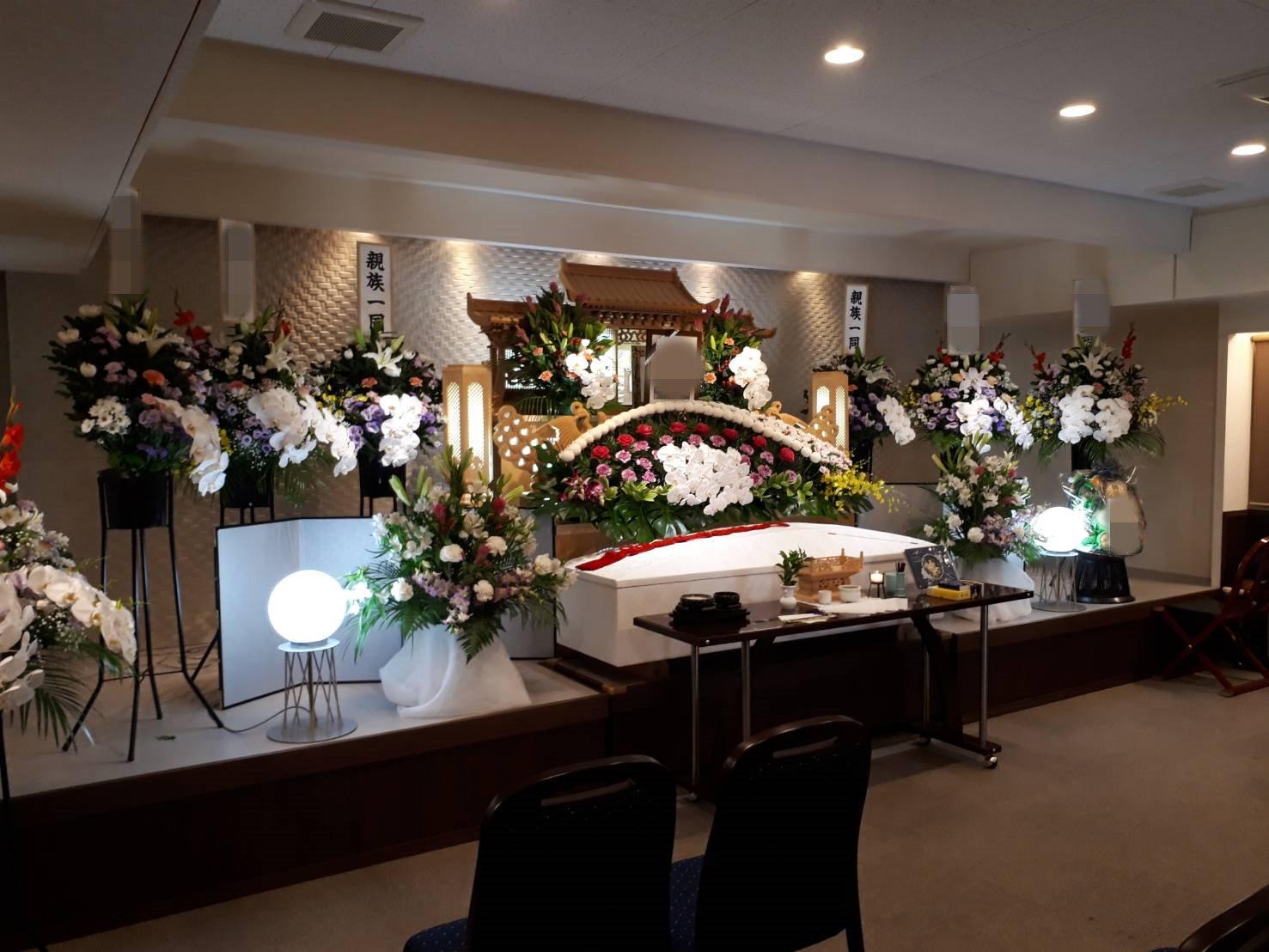 大阪生野区、絆で家族葬。生野区の葬儀は絆で。