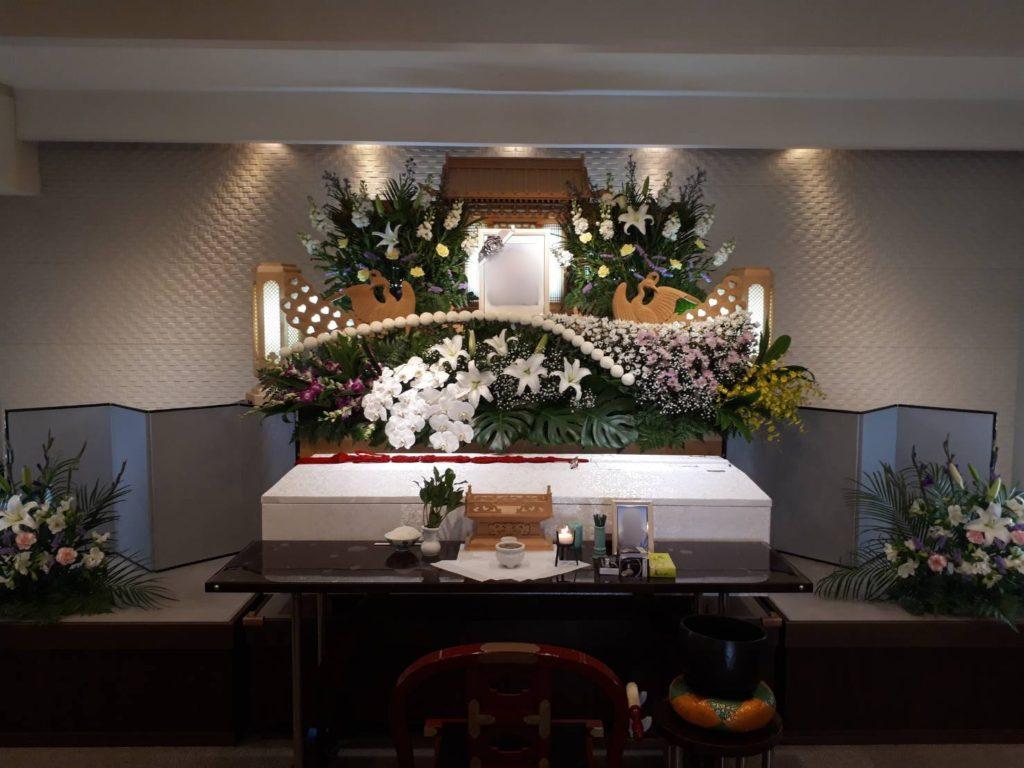 大阪生野区 家族葬 10名規模のお葬式事例 ファミリーホール絆