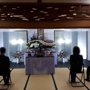大阪市住吉区 月江院での家族葬です。