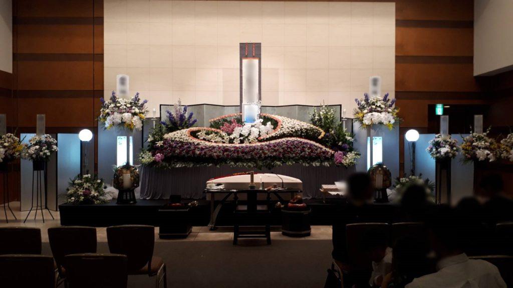 やすらぎ天空館で家族葬を